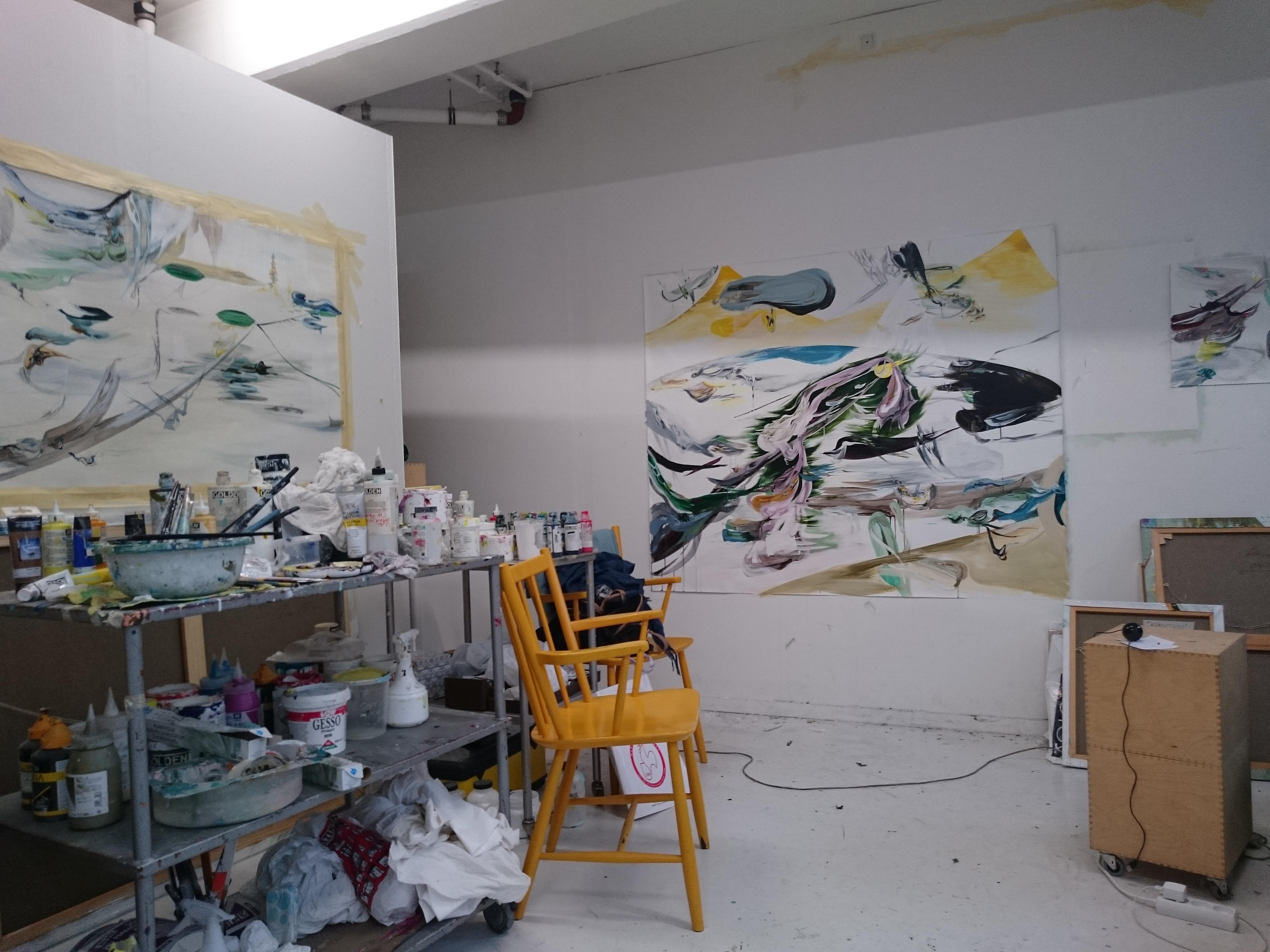 Contact / Ragnhild Joest Harbeck / Studio / Esromgade / Copenhagen 2015