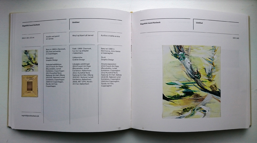Exhibition Catalogue / Ragnhild Joest Harbeck / 150 danish Artists / Artcollection Imago Mundi / 2014